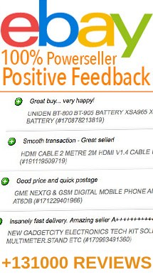 Ebay power seller, About us and our customer service