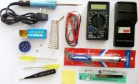 ELECTRONICS TECH KIT SOLDERING IRON 40W DIGITAL MULTIMETER PACK